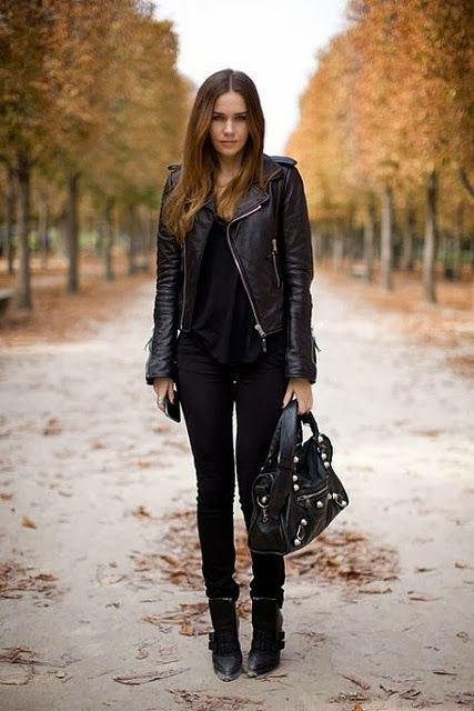 40 Leather Jackets You Can Rock This Winter/Fall 2016 | Fall .
