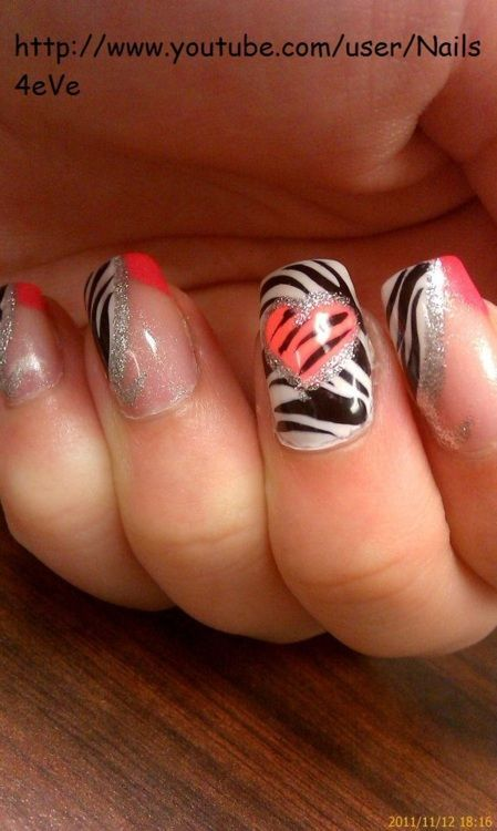 Cool and Pretty Nails for Every Girl | Zebra nails, Stylish nails .
