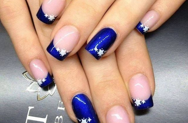 COOL AND PRETTY NAILS FOR EVERY GIRL PINTEREST ROYAL BLUE NAIL TIP .