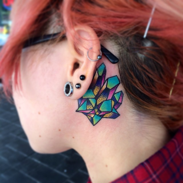 80 Best Behind the Ear Tattoo Designs & Meanings - Nice & Gentle .
