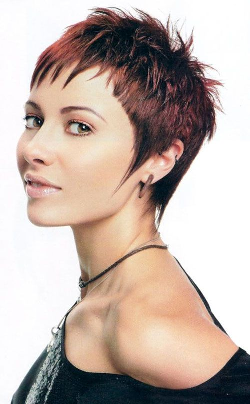 30 Funky Short Spiky Hairstyles for Women - Cool & Trendy Short .