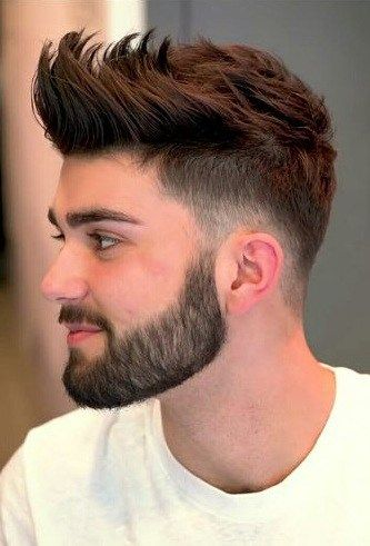 Get The Cool & Funky Front Spikes Hairstyle For Men To Stand Out .