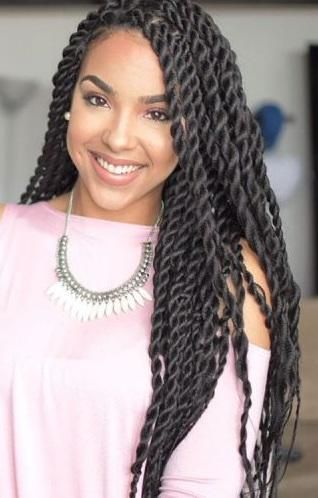 Most Amazing Twist Hairstyles for African-American Women! 35 Ideas .