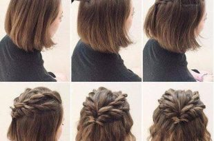 Hairstyles for short hair, twisted hair styles easy hairstyles .