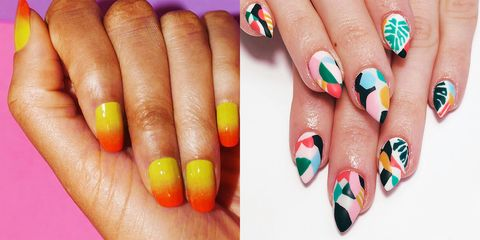 20 Cool Summer Nail Art Designs - Easy Summer Manicure Ide