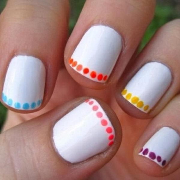 30 Easy Nail Designs for Beginners - Hati