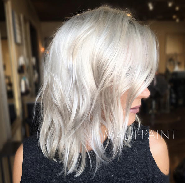 50 Enviable Platinum Blonde Hairstyles That Just Might Inspire You .