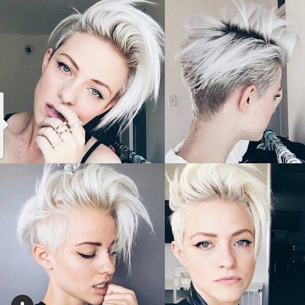 Light Blonde Hairstyle Ideas for Short Hair: Short Hairstyles .