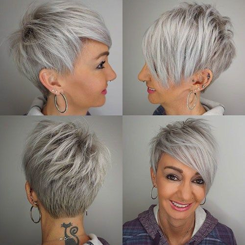 8+ Latest Edgy Pixie Hairstyles for 2020 | Pixie fris