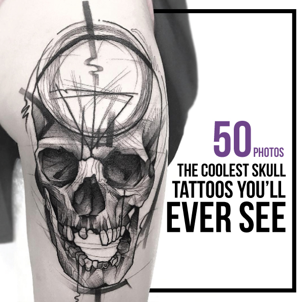 The Coolest Skull Tattoos You'll Ever See (50 PHOTOS) - TattooBle