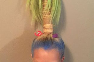 50+ Crazy & Funky Halloween Hairstyle Ideas For Little Girls .