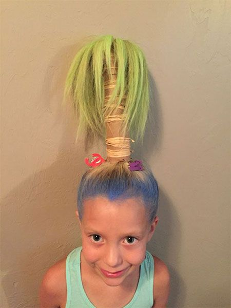 Crazy and Funky Hairstyles