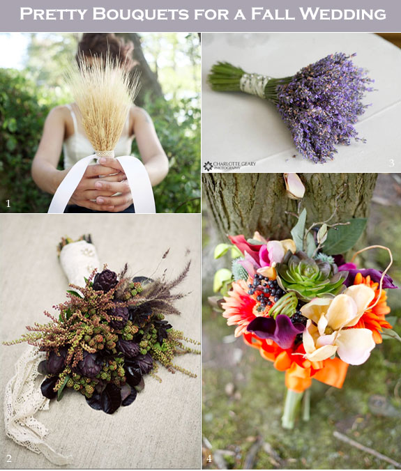 Fall Bridal Bouquet Ideas with a Creative Vibe - Creative and Fun .