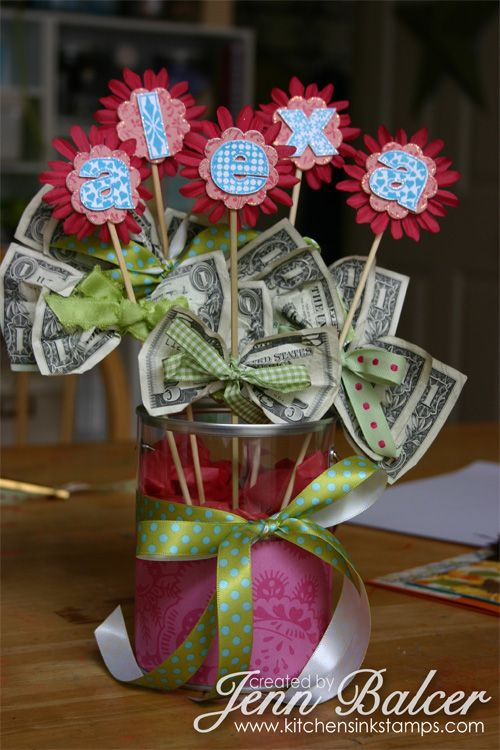 15 Creative Ways to Give Money as a Gift | Creative money gifts .