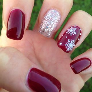 39 Creative Christmas Nail Art Designs To Stand Out – Mrstobe Bl