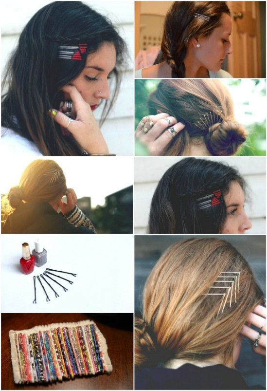 21 Unexpectedly Stylish Ways to Wear Bobby Pins - DIY & Craf