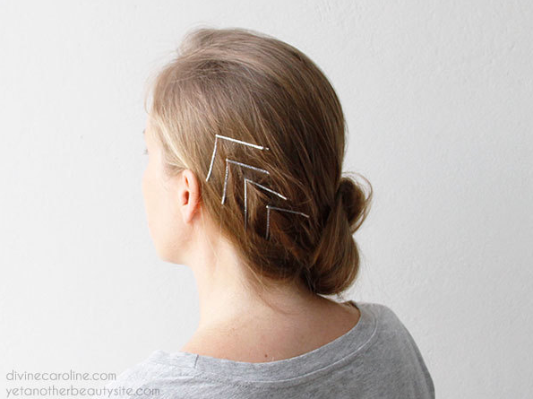 Creative Ways to Wear Bobby Pins - Pretty Desig