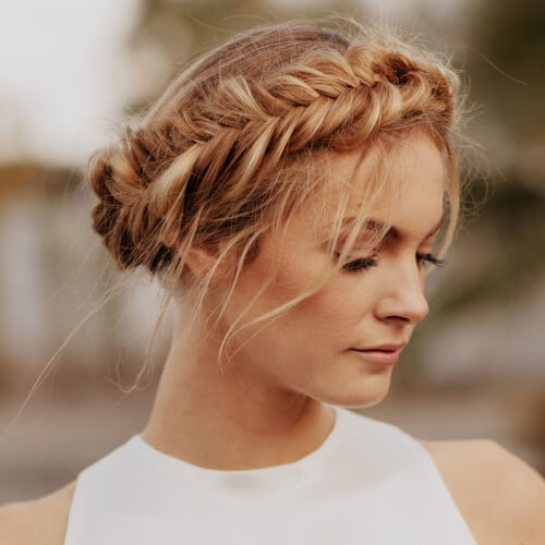 Channel Your Inner Fairy With these 50 Crown Braid Styles! | Hair .
