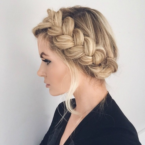 Master The Crown Braid Hairstyle- Here's How | BEAU