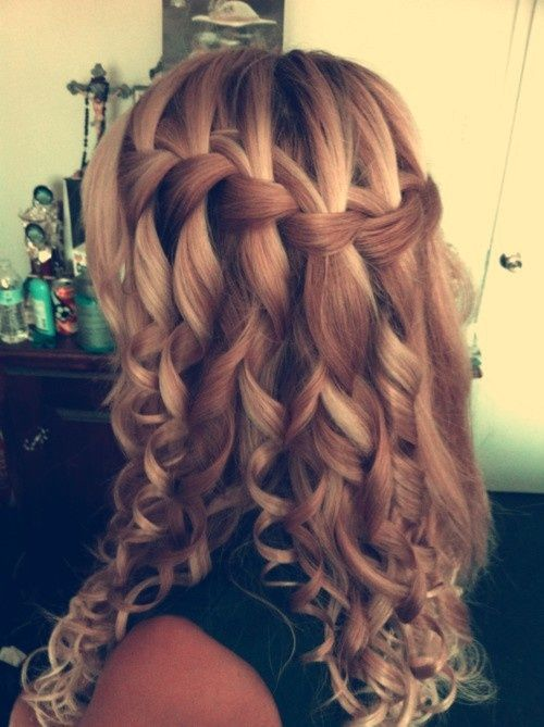 Braided Hairstyles to Try: Crown Braids and Waterfall Braids .