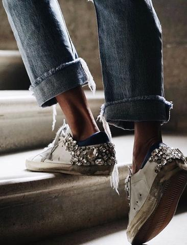 Crystal-Embellished Shoes