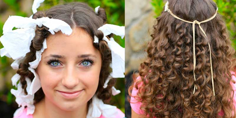 How to curl your hair without a curling iron – 11 Successful Metho