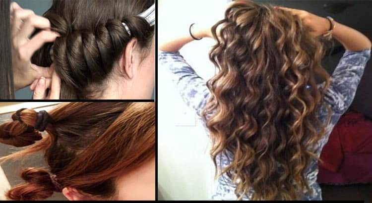 Best ways to curl your hair without using he