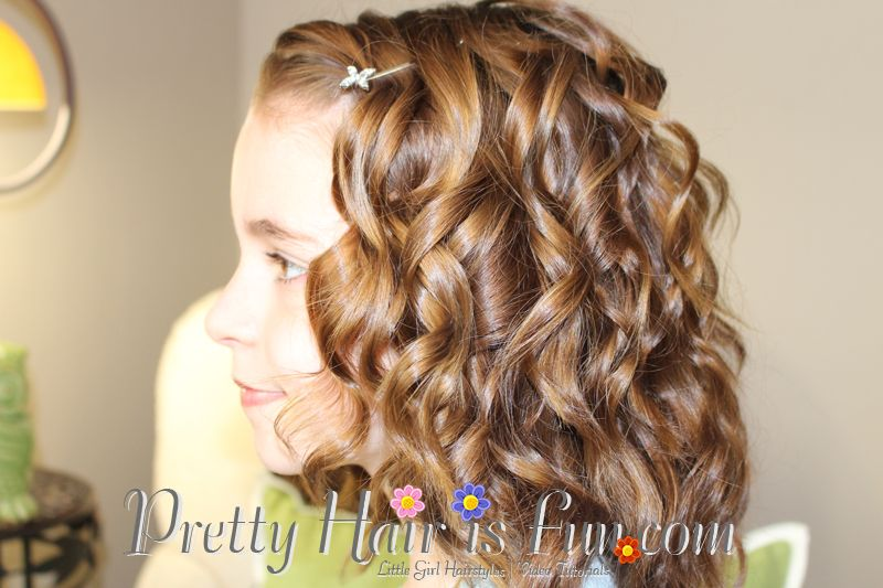 Pretty Hair is Fun.com: Girls Hairstyles: How to use a Curling .
