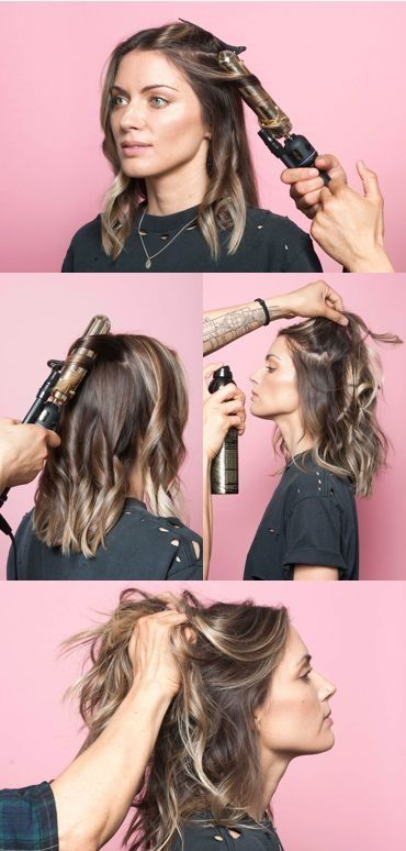 This Is The Secret To A Perfectly-Messy Long Bob | Hair lengths .
