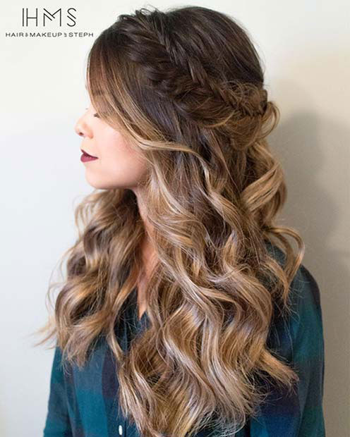 25 Easy and Cute Hairstyles for Curly Hair | Southern Livi