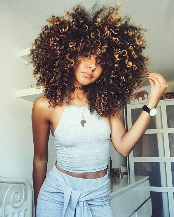 Winter Care For Your Curls - | CurlyHair.c