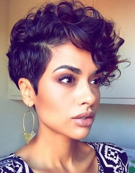 40 Hottest Short Wavy, Curly Pixie Haircuts 2020 - Pixie Cuts for .
