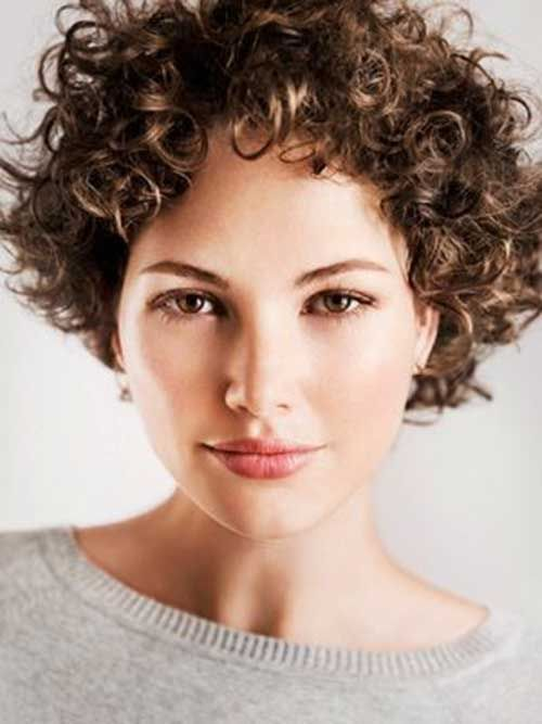 30 Curly Short Hairstyles For Womens | Short curly hairstyles for .
