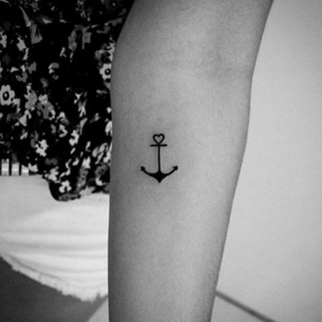 43 Most Popular Anchor Tattoos Designs and Their Meanings | Anchor .