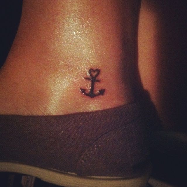 Cute Anchor Tattoos | cute anchor tattoo (With images) | Small .