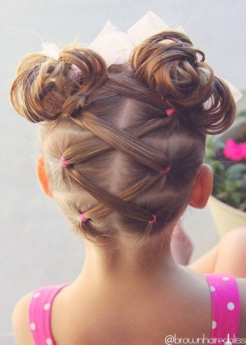 20 Amazing Braided Pigtail Styles for Girls | Girl hair dos, Hair .