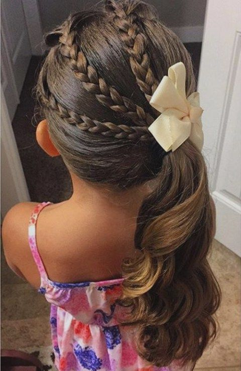 40 Cool Hairstyles for Little Girls on Any Occasion | Girl .