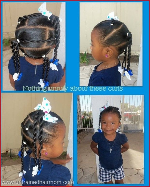 Cute Hairstyles for Little Girls with Quick and Easy Method .