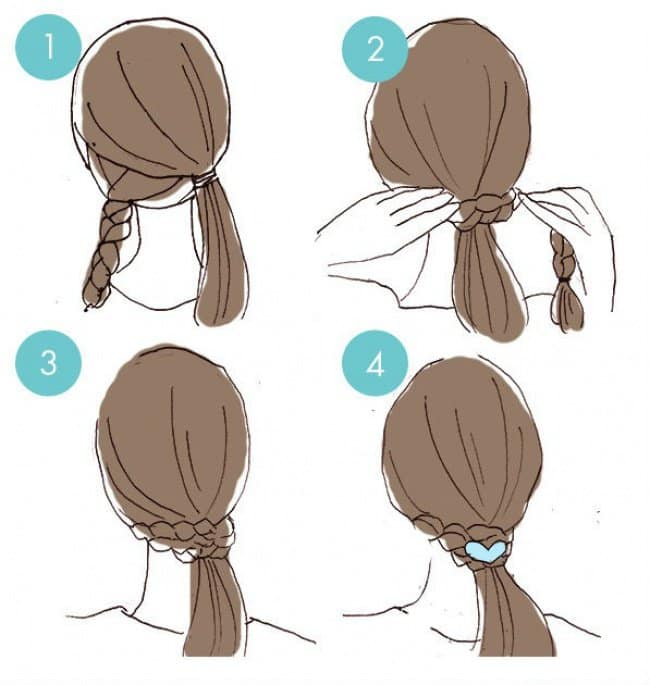 65 Easy And Cute Hairstyles That Can Be Done In Just A Few Minut
