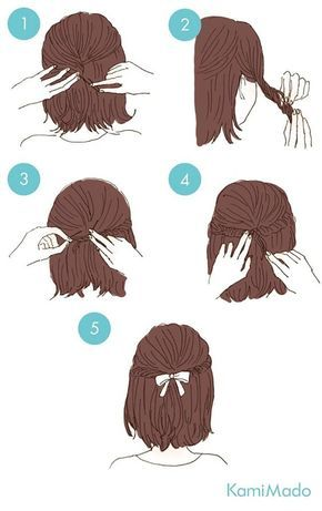 65 Easy And Cute Hairstyles That Can Be Done In Just A Few Minutes .