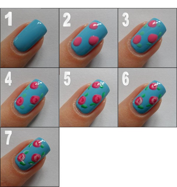 51 Cute Nail Designs with Easy Instructions (202