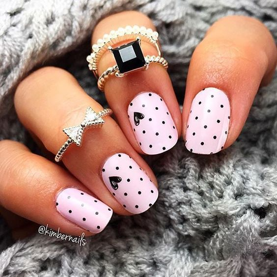 We love cute nail art designs.Have beautiful manicured nails is .
