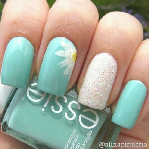 15 Cute Spring Nails and Nail Art Idea