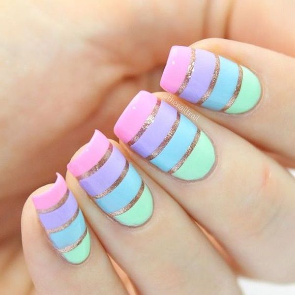 25 fun and easy nail art tutorials. prev next cool nail art .