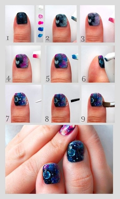 25 Great Nail Art Tutorials for Cute and Fancy Nai