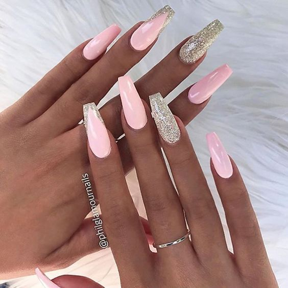 52 Cute and Lovely Pink Nails Designs to Look Romantic and Girly .