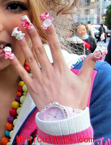 Nail Designs For Girls | Nail Designs, Hair Styles, Tattoos and .
