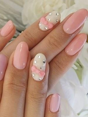 70 Cute Pink Nail Art Designs for Beginners | Pink nail art .