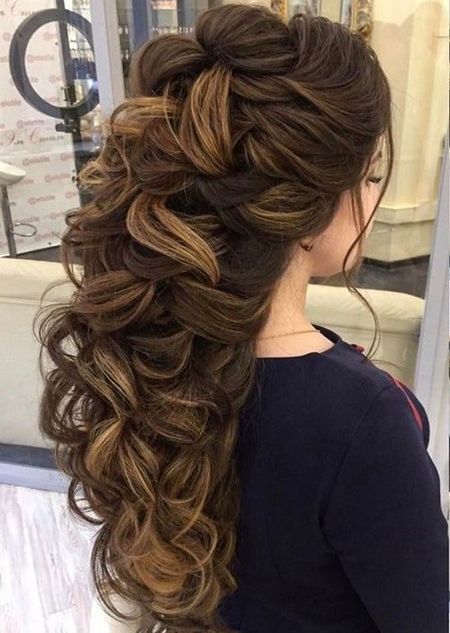 Cute Hairstyles for Long Hair | Long hair styles, Unique wedding .