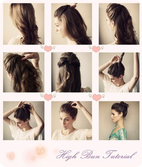 Top 3 Easy Daily Hairstyles Ideas for Medium Hair - | Hair, Hair .